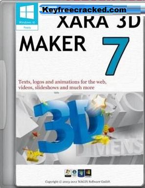 Xara 3D Maker Crack